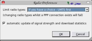 Radio Preferences