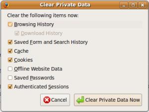 clear-private-data